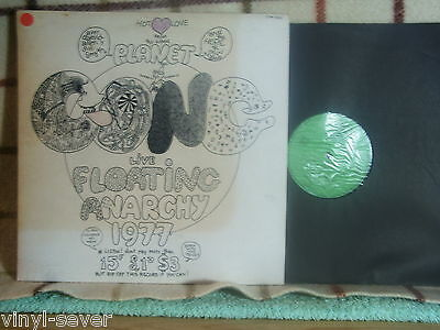 GONG Floating Anarchy 1977 LP mint - LTM 1002 hippie punk psychedelic jewel