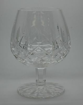 One Waterford Crystal Lismore Brandy Snifter Glass Signed 5 1/4'' Bottom #4