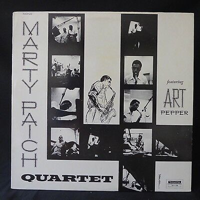 MARTY PAICH QUARTET With Art Pepper TAMPA US Press JAZZ MONO LP NM