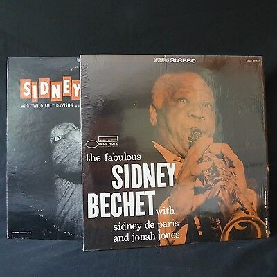 SIDNEY BECHET Volume 2 & The Fabulous… BLUE NOTE JOB LOT 2LPs JAZZ EX
