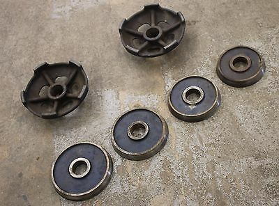 Used Extra Large Bore Centering Cone Set for Heavy Duty Truck Drums Brake Lathe