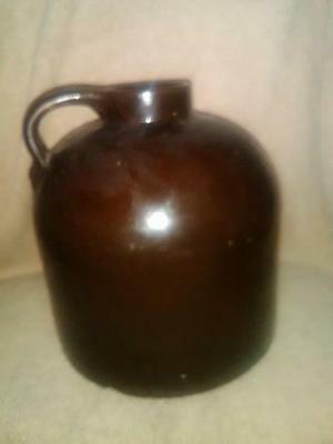 One Gallon Bottom Marked Minnesota Stoneware Red Wing Wide Mouth Jug
