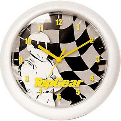 TOP GEAR - The Stig Wall Clock ~ 26cm Diameter (Wesco) #NEW