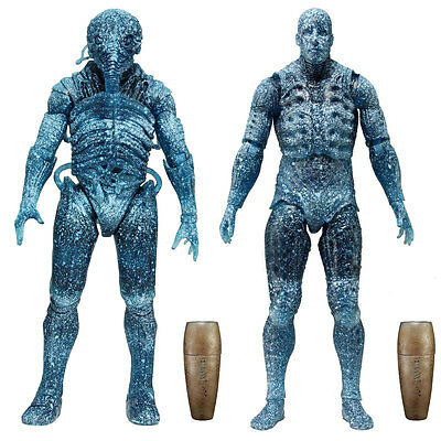 "PROMETHEUS - 7"" Series 3 Action Figure Set (2) NECA #NEW"