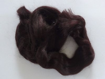 MOHAIR for rooting- REBORN Doll making supplies 25g (0.9 oz) Dark brown