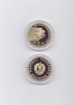 Bulgaria / Bulgaria - 1 Lev 1988 UNCIRCULATED - Sprinter