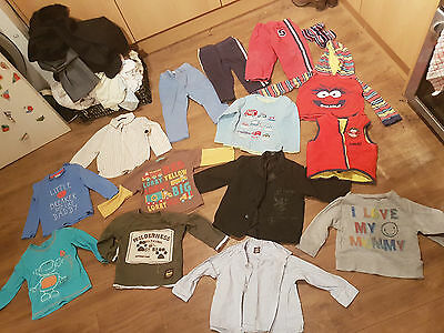 Bundle Boys 12 - 18 months including New with Tags pale blue Next trousers