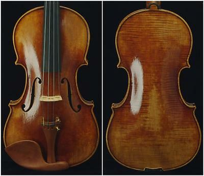 Collection-Maestro Guarneri 1743 Cannon 4/4 Violin #6714. Powerful tone