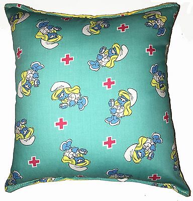 Smurfette Pillow Smurfs The Lost Village Pillow Handmade In USA