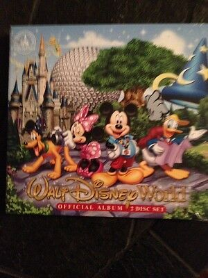 Walt Disney World Official Album 2 Disc Set CD Music NEW