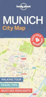 Lonely Planet Munich City Map by Lonely Planet 9781786577870 (Sheet map, 2017)