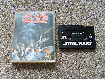 Star Wars By Domark For The Sinclair Zx Spectrum Tested Working