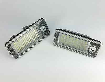 LED Can Bus License Licence Number Plate Light Lamp fit Audi A4/S4 B7 2004 -2007