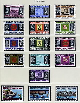 GB Guernsey 8-23 (complete set) unmounted mint / never hinged 1969