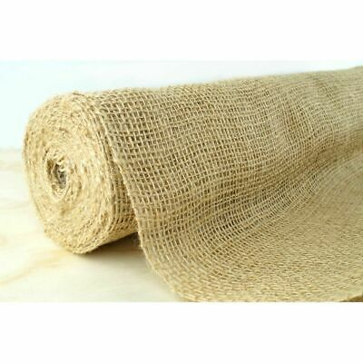 Burlap Hessian Material Roll 50cm x 10m Wedding Table Runners Rustic Decor