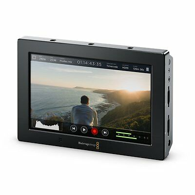 Blackmagic Video Assist 4K, Monitor und Rekorder