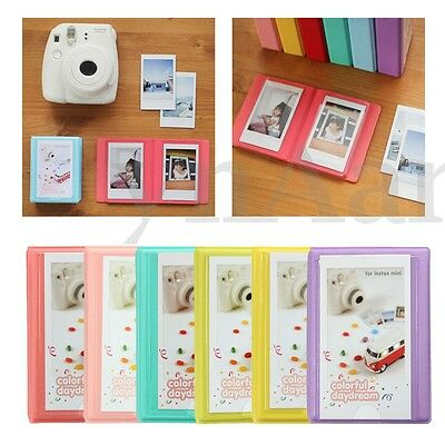 "3"" Mini 28+1 Pockets Photo Album Storage Case For Polaroid FujiFilm Instax Film"