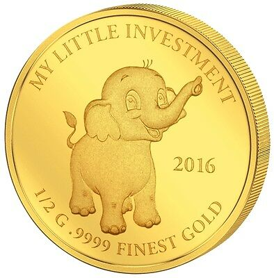 10$ 2016 Solomon Islands - My Little Investment - Baby Elephant