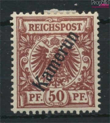 Cameroon, German Colony 6 with hinge 1897 print edition (9030081