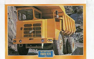Foden FC20     1973                Glossy   Picture (T474)