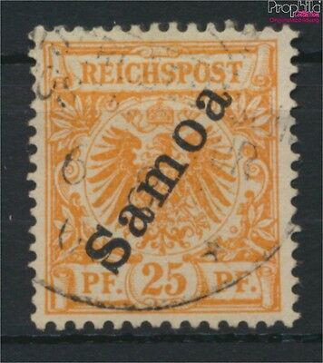 Samoa, German Colony 5a fine used / cancelled 1900 Imperial Yacht (9030035