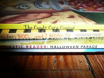 NEW Lot of 5 HALLOWEEN PICTURE books READERS Early Chapter Books Junie B Jones