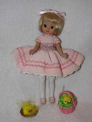 """Robert Tonner 8"""" Tiny Betsy McCall Doll Dressed In Pink W/Extras"""