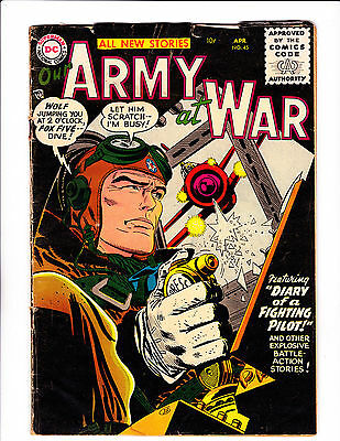 """Our Army At War  No.45   : 1956 :    : """"Diary Of A Fighting Pilot!"""" :"""