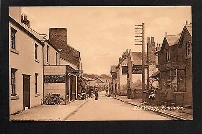 Hawarden - The Village - printed postcard