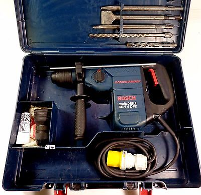 Bosch GBH 4DFE 110v SDS PLUS Multidrill Hammer Drill 3 Mode Chisel Function 900W