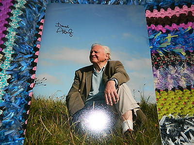SIR DAVID ATTENBOROUGH SIGNED PHOTO 16 x 12 PLANET EARTH 2 W COA IDEAL XMAS GIFT
