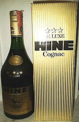 old cognac hine three star's cl 75 40°+box