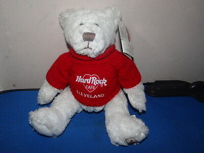 Hard Rock Cafe Cleveland Herrington Limited Edition Valentines Day Bear 2001