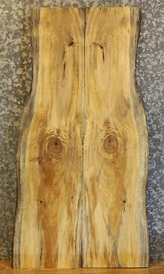 2- Bookmatched Spalted Maple Kitchen/Dining Table Top Set 4211-4212