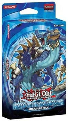 YuGiOh Realm of the Sea Emperor - 1st Edition New Sealed