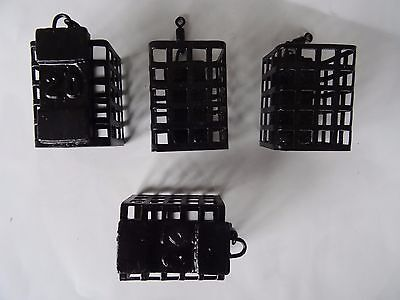 10 square Cage Metal Feeders with Swivel 25gram