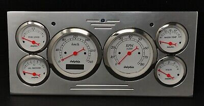 1973 1974 1975 1976 1977 1978 Ford Truck 6 Gauge Cluster White