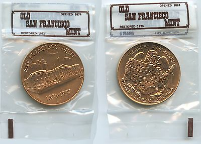 GX672 - Medaille 1973 Old San Francisco Mint 1874-1937 United States of America