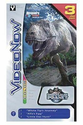 VideoNow Color Personal Video Disc 3-Pack: Dino Planet