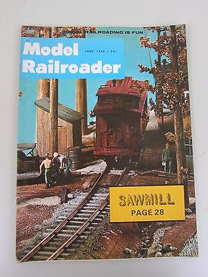 Model Railroader Magazine June 1968