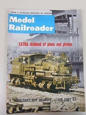 Model Railroader Magazine April 1962