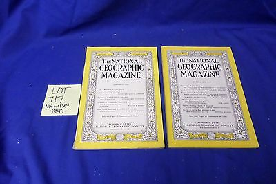 National geographic magazine Not Complete Set 1949