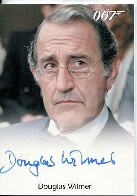 James Bond Archives 2014 Autograph Douglas Wilmer in Octopussy