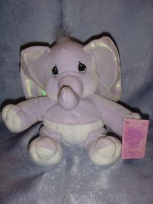 Precious Moments - 609692 - Precious Moments Tender Tails - Purple Elephant