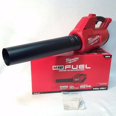 Milwaukee 2728-20 NEW M18 FUEL Cordless Hand Held Leaf Blower (Bare Tool) NIB