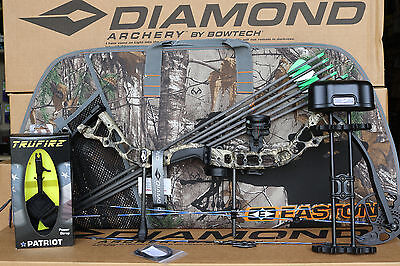 2019 Diamond Bowtech Infinite Edge Pro RH CAMO Bow UPGRADED Package With Case