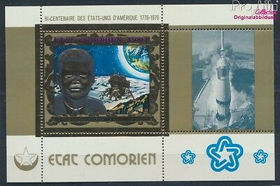 Comoros block67a unmounted mint / never hinged 1976 Independence U.S. (7336048