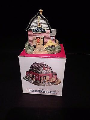 1992 Liberty Falls Stubb's Blacksmith & Saddlery - Boxed