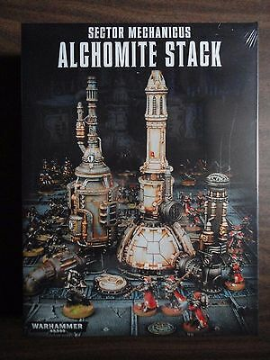 Alchomite Stack boxed scenery kit for Warhammer 40K mint in shrink