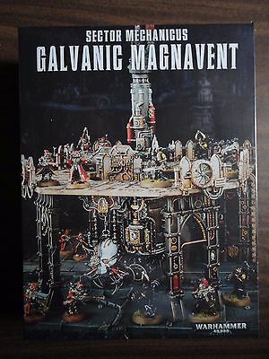 Galvanic Magnavent boxed scenery kit for Warhammer 40K mint in shrink